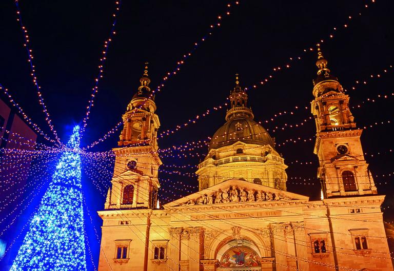 Advent i zimski praznici u Budimpešti