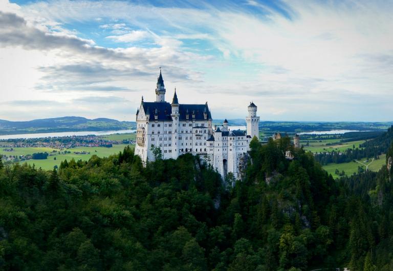Munchen i dvorci Bavarske