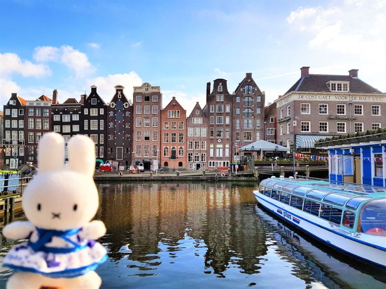 Što Miffy misli o Amsterdam city stayu?