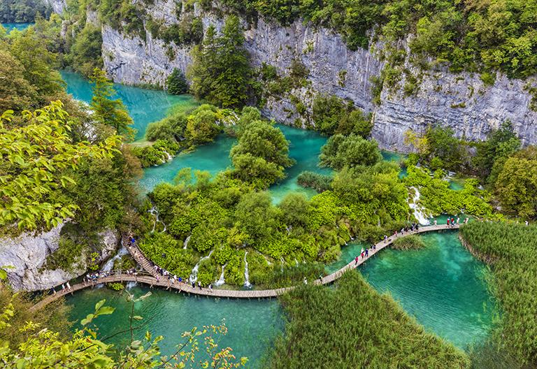 Plitvice Lakes from Zagreb Private Tour