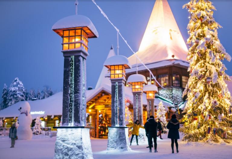 U gradu Djeda Božićnjaka - Advent u Rovaniemiju