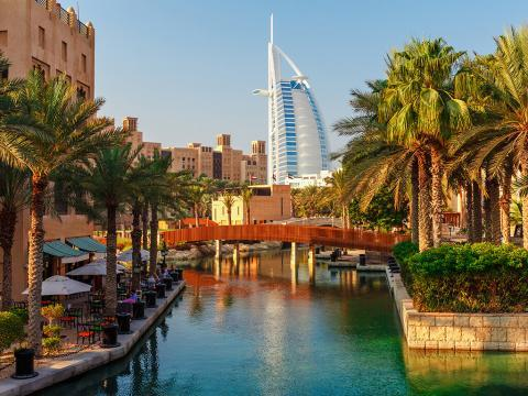 Nova godina 2021. DUBAI